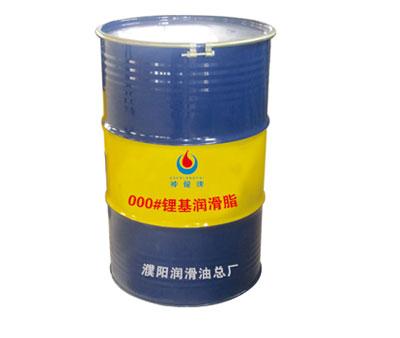 000#大铁桶锂基润滑脂